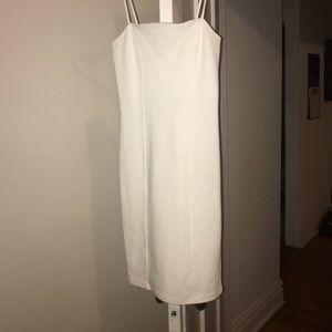 Ivory Bodycon Knit Dress